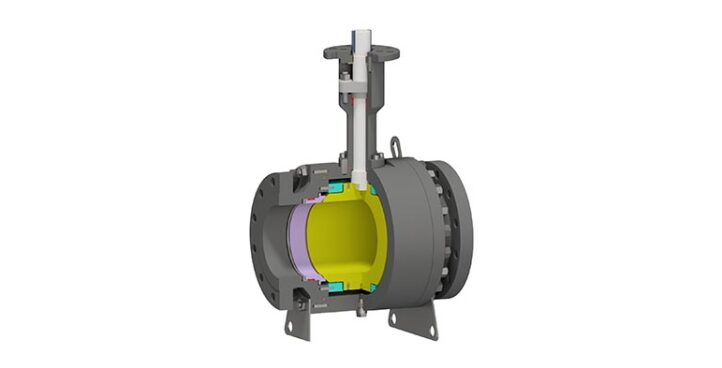 Trunnion Mounted Ball Valve Side Entry – High Temperature