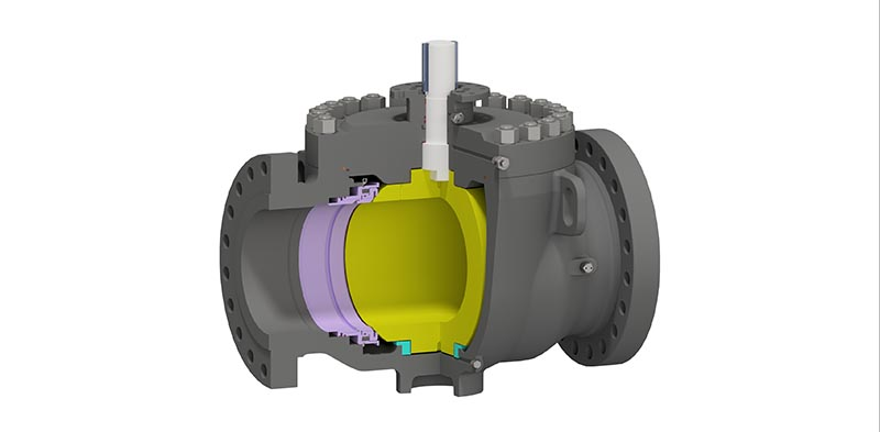 Trunnion Mounted Ball Valve Top Entry