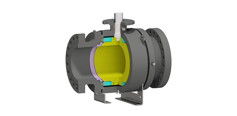 Trunnion Mounted Ball Valve Side Entry Bolted Body TMBV SE WB