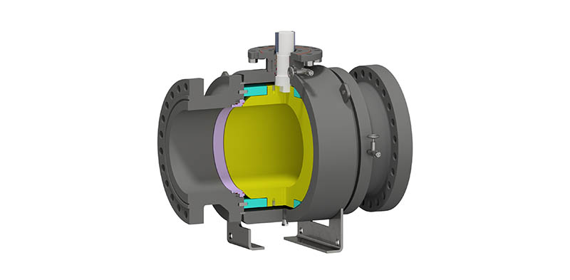 Trunnion Mounted Ball Valve Side Entry Welded Body – Subsea