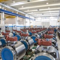 Inventory of Ball Valves, ready for distribution
