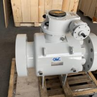 "API 6A Trunnion Mounted Ball Valve Side Entry Bolted Body 7"" 1/16 10.000psi"