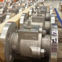"Floating Ball Valves 1 ½"" 150# - Duplex - Invest Cast"