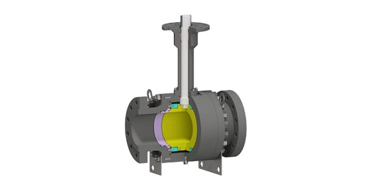 Trunnion Mounted Ball Valve Side Entry Bolted Body – Cryogenic