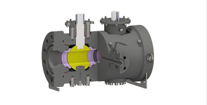 Trunnion Mounted Side Entry Twin Balls Valve