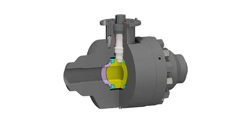 Trunnion Mounted Ball Valve Side Entry Bolted Body – Subsea